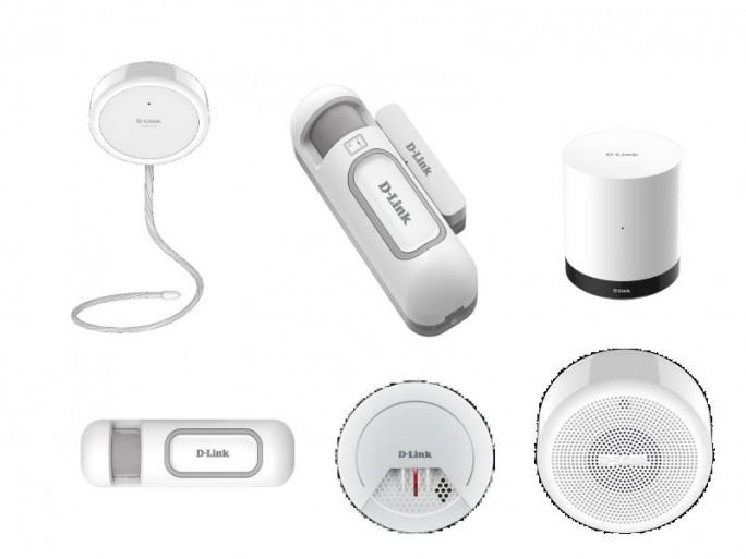 Mydlink-Sensoren (Bilder: D-Link)