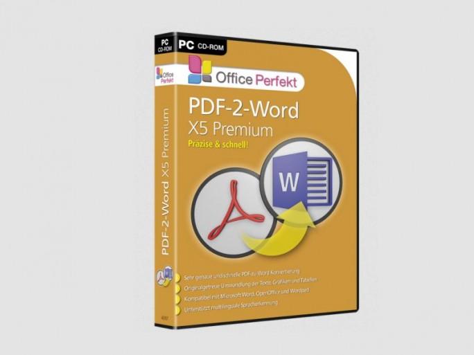 PDF2Word X5 Premium (Bild: Bhv Software)