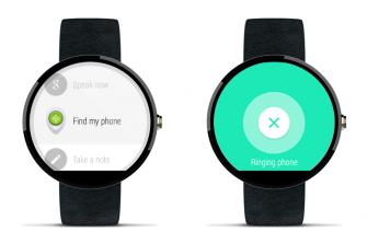 smartphone-finden-android-wear-google (Bild: Google)