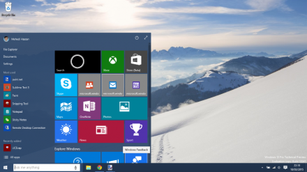 Windows 10 (Screenshot: Microsoft)