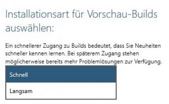 windows-10-update-schnell-langsam (Screenshot: ZDNet.de)