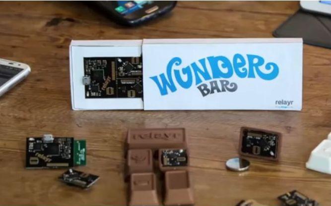 """Die """"Wunderbar"""" von Relayr: Sensortechnik im Schokoladentafelformat (Biild: Relayr)."""