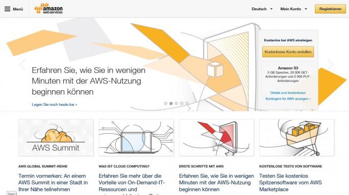 Die Business-Lösungen von AVG werden im Amazon-Rechenzentrum in Frankfurt am Main gehostet. (Screenshot: Mehmet Toprak)