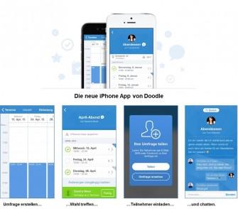 Doodles neue iPhone App (Grafik: Doodle)