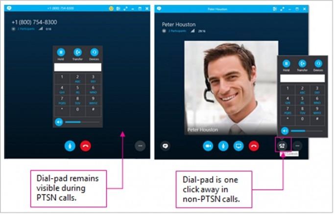 Skype4B-Dial-Pad (Screenshot: Microsoft)