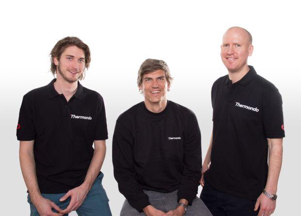 Die Thermondo-Gründer Kristofer Fichtner, Philipp Pausder und Florian Tetzlaff (Bild: Thermondo)