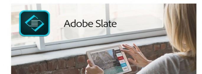 Adobe Slate Titelbild
