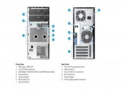 HPML10v2 Anschlüsse (Bild: HP)