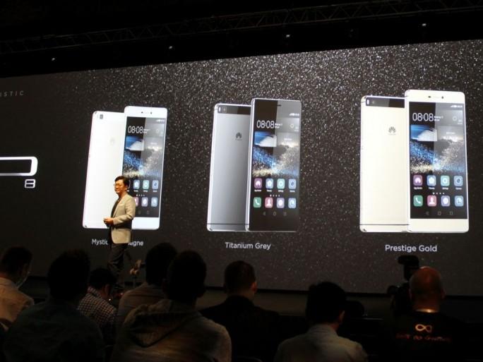 Vorstellung des Huawei P8 in London (Bild: CNET.de)