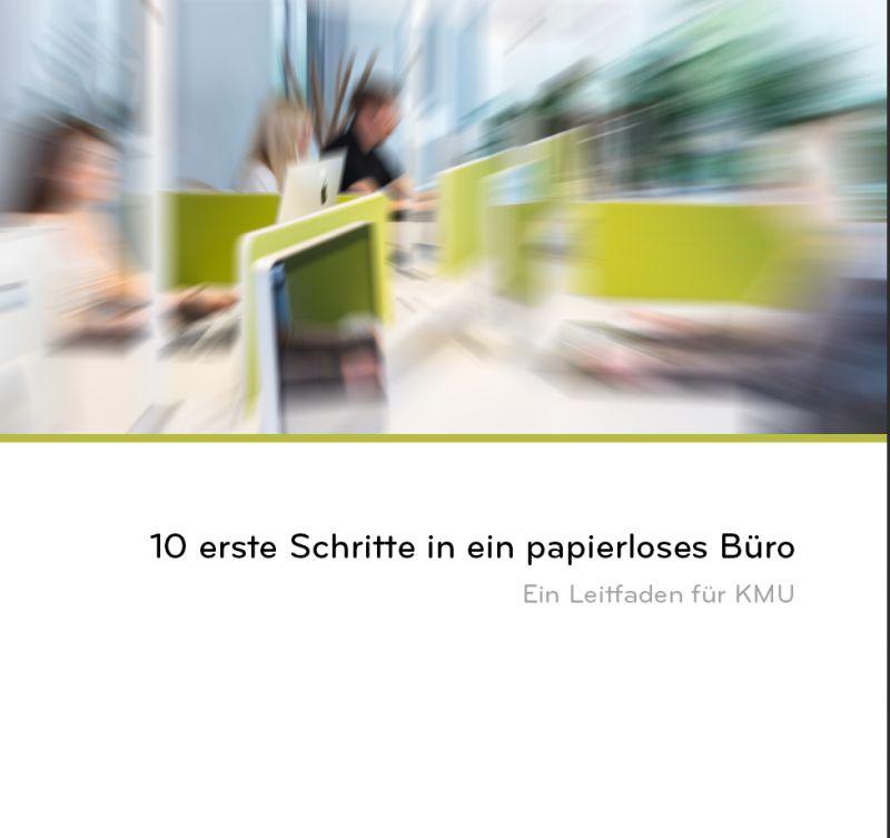 Leitfaden Zeigt Schritte Zum Fast Papierlosen B Ro