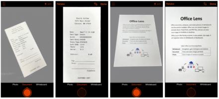 Office Lens im Einsatz (Bild: Microsoft)