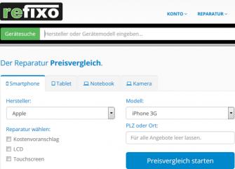 refixo (Screenshot: ITespresso.de)
