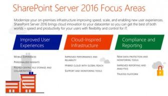 sharepoint-2016-schwerpunkte (Grafik: Microsoft)