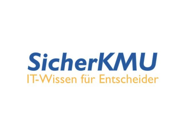 SicherKMU Logo (Grafik: ITespresso)