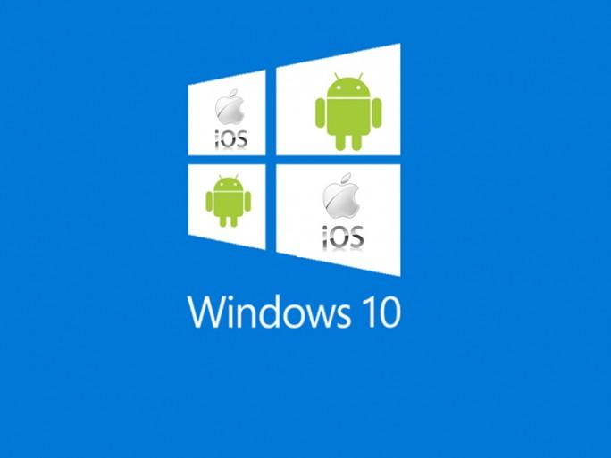Windows 10 Android iOS (Grafik: ITespresso)