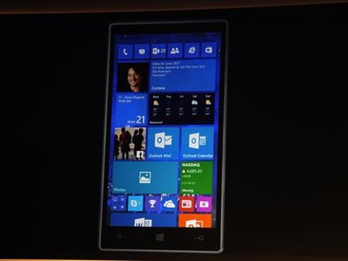 Windows 10 Telefon (Bild: CNET.com)