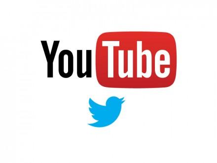 Logos YouTube und Twitter (Bild: ITespresso)