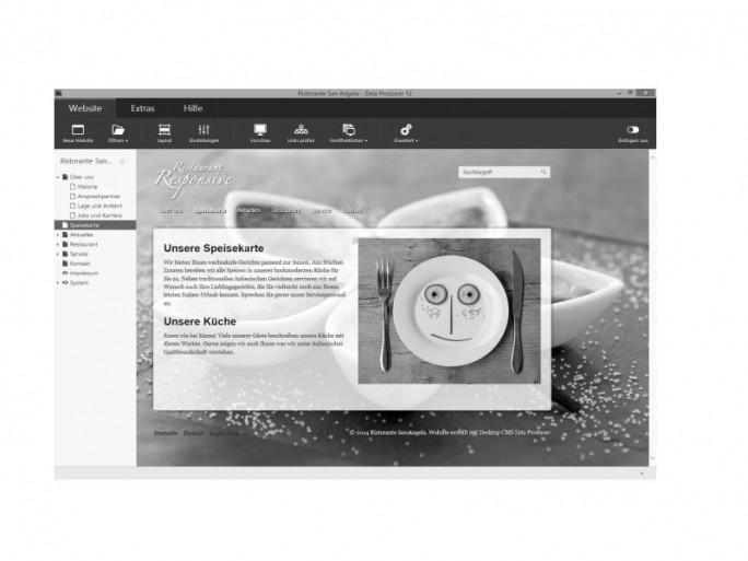"""Zeta Producer 12.5 kann durch die """"Liveview""""-Bearbeitung direkt im Layout Änderungen vornehmen (Bild: Zeta Software)."""