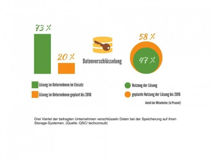 Datenverschluesselung (Grafik: Techconsult/ QSC AG)