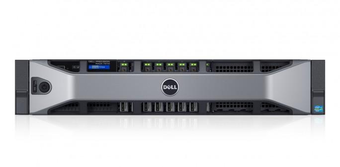 Das Dell Precision Rack 7910 bedient die angeschlossenen Thin Clients im Unternehmen mit Workstation-Leistung (Bild: Dell).