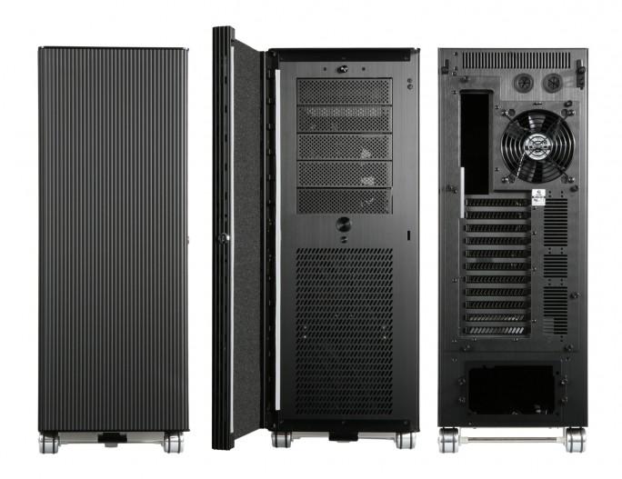 """Klassische Workstation Wortmann Terra 8000 CS mit Intels Core i7-CPU: Der Hersteller preist den Rechner als """"ideale Wahl für den Einsatz von Adobe Creative Suite 6"""". Nvidias Quadro-Grafikkarten stehen für beste Leistung auch im Grafikbereich (Bild: Wortmann)."""
