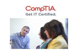 CompTIA certified (Bild: CompTIA)