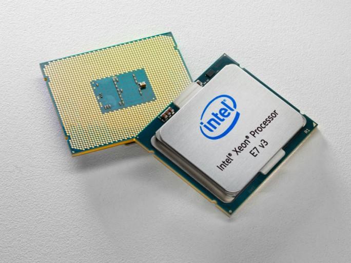 Server-Prozessor Xeon-E7 v3 (Bild: Intel)