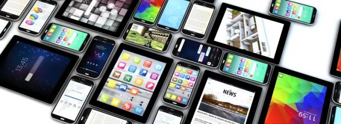 Smartphones und Tablets (Bild: Shutterstock/Georgejmclittle)
