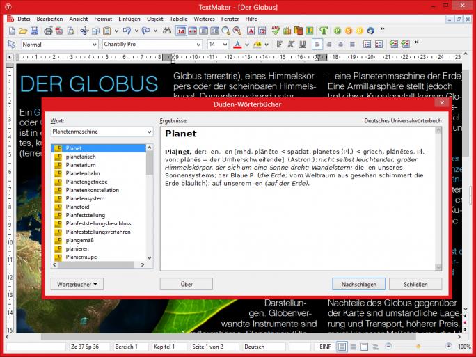 softmaker-office-16-textmaker-sprachwerkzeuge (Bild: SoftMaker)
