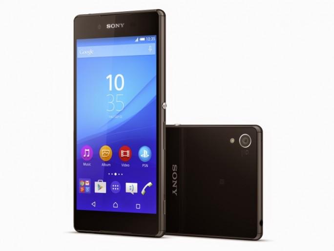 Äußerlich ist das Xperia Z3+ kaum vom Vorgänger zu unterscheiden (Bild: Sony).