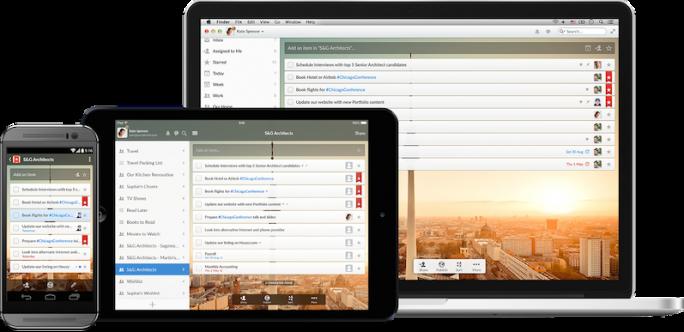 Die To-Do-App Wunderlist erlaubt plattformübergreifend die Verwaltung von Aufgaben und Notizen (Bild: 6Wunderkinder)