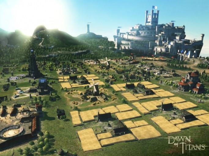 Mit Dawn of Titans ist bei Zynga ein weiteres Kampf- und Strategiespiel für Mobilgeräte in Vorbereitung (Bild: Zynga)