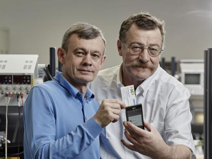 Franz Amtmann und Philippe Maugars (Bild: EPO)