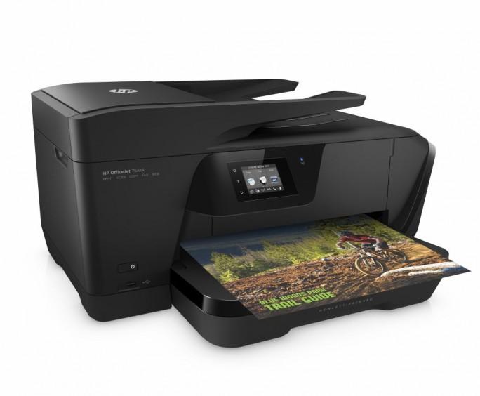 HP OfficeJet 7510 A (Bild: Hewlett-Packard)