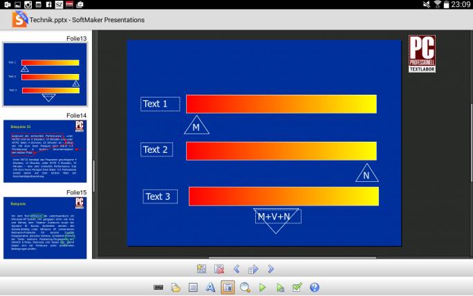 Softmaker Presentations gehört auch in der kostenlosen Version zu den besten Powerpoint-Alternativen (Screenshot: Mehmet Toprak).