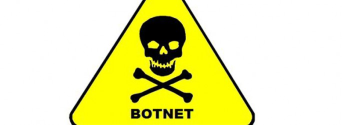 Botnetz Warnschild (Bild: unbekannt)