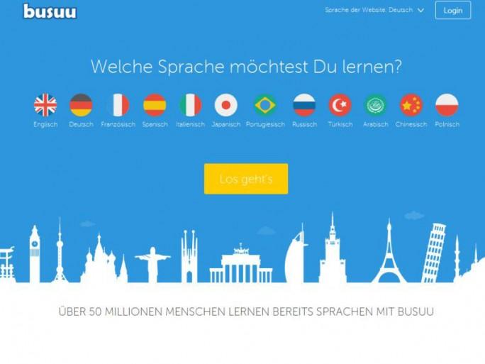 Busuu.com Website (Screenshot: ITespresso)