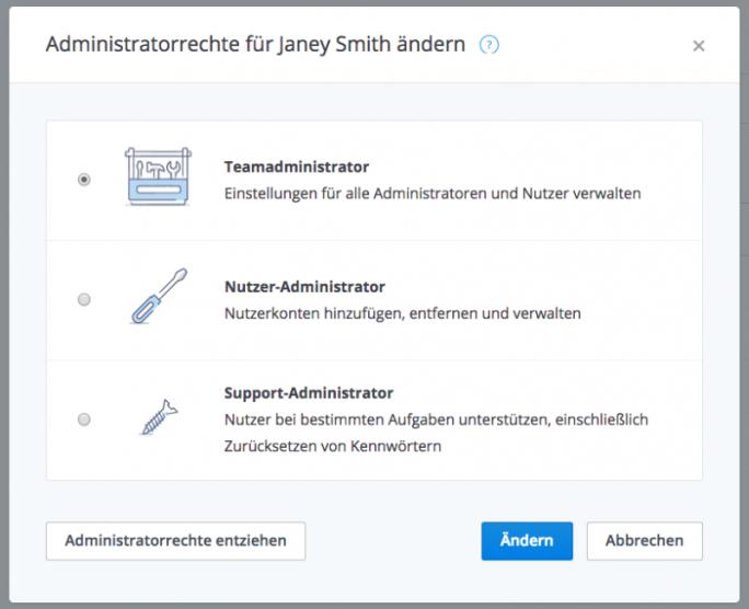 dropbox-for-business-adminrechte (Bild: Dropbox)