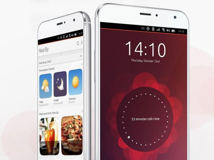 Ubuntu-Smartphone Meizu Mx4 (Screenshot: ITespresso)