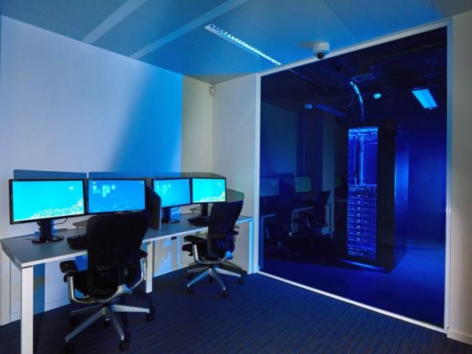 Klein aber symbolträchtig: das Microsoft-Transparenzzentrum in Brüssel (Bild: Microsoft)