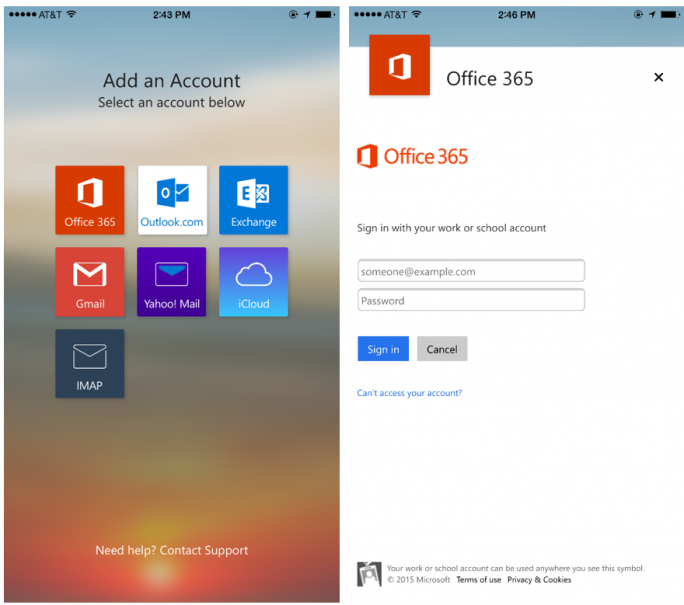 outlook-for-ios-android (Bild: Microsoft)