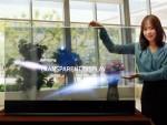 Samsung führt transparente und spiegelnde OLED-Panel mit 55-Zoll-Diagonale vor