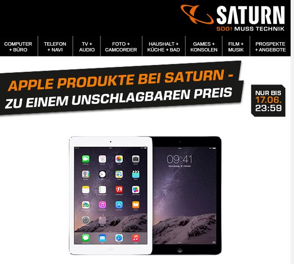 Saturn Iphone Aktion