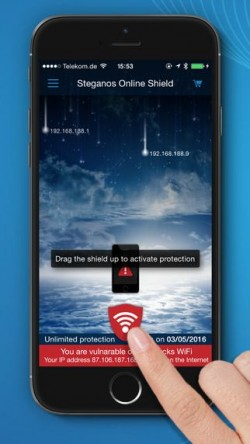 Steganos Online Shield VPN (Bild: Seaagnos)