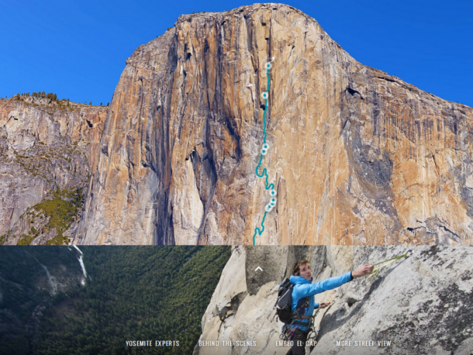 Street View El Capitan (Screenshot: ITespresso)