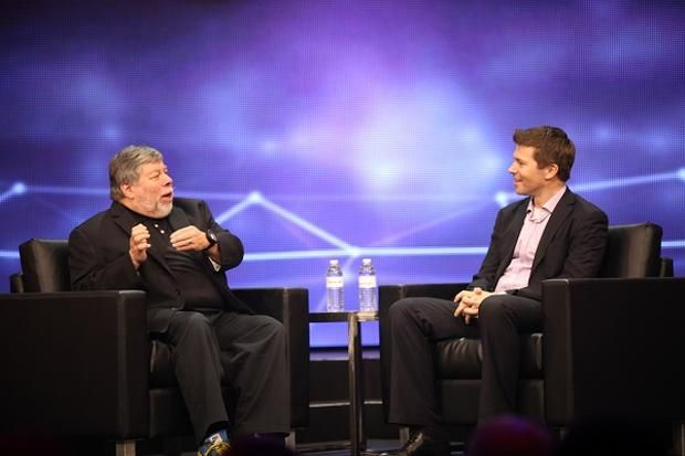 Steve Wozniak bei einer Podiumsdiskussion bei Freescale (Bild: Freescale)