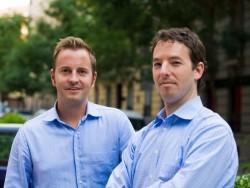 Die Busuu-Gründer Bernhard Niesner und Adrian Hilti (Bild: Busuu).