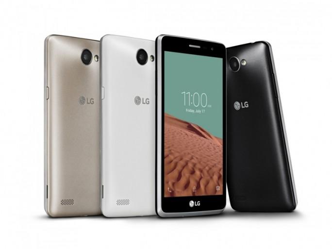 Das LG Bello II wird mit 5-Zoll-Display Ende September in den Farben Weiß, Titan und Gold kostet 149 Euro in den Handel kommen (Bild: KLG Electronics).