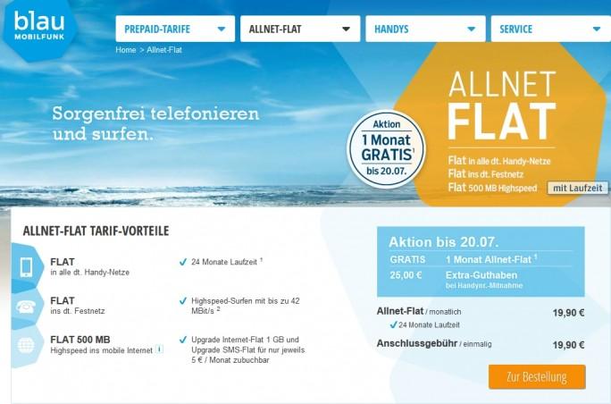 blau_allnet-flat (Screenshot: ITespresso)