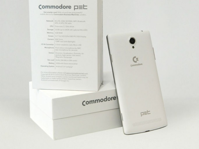 Commodore Smartphone (Bild: Commodore Business Machines LTD)